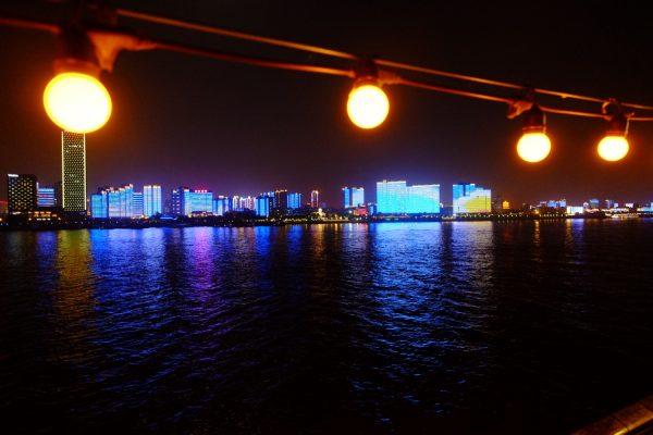 Sur les eaux du Yangtsé Kiang