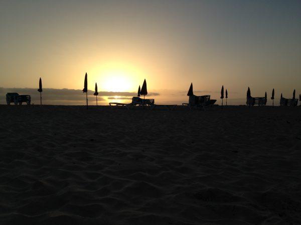 Corralejo, un coucher de soleil inoubliable