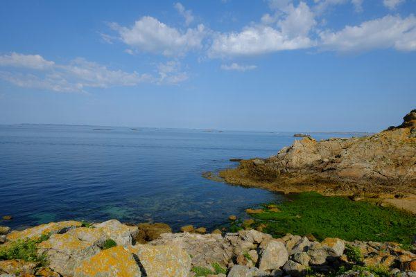 La côte et la vue sur Belle-île