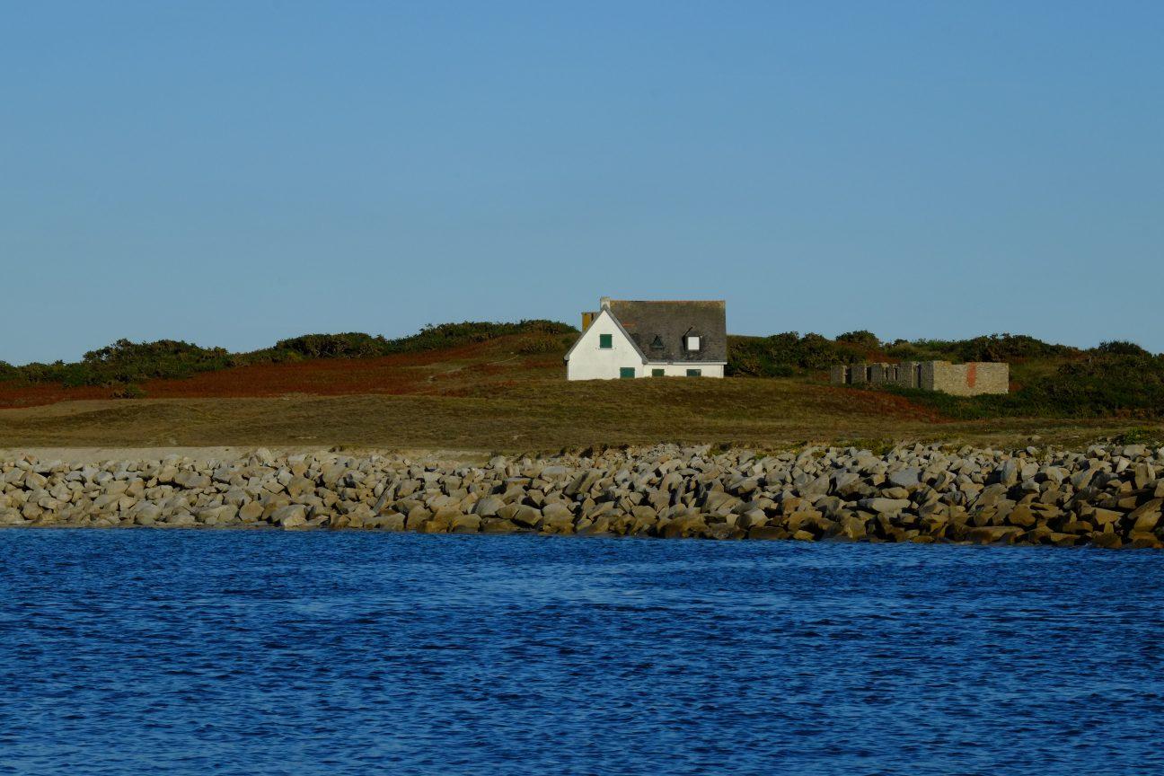 Le charme des paysages d'une petite île bretonne
