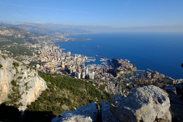 Pour admirer Monaco d'en haut il faut se rendre à la Turbie