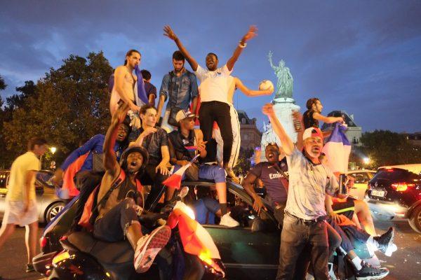 Les français sont heureux, 15 juillet 2018