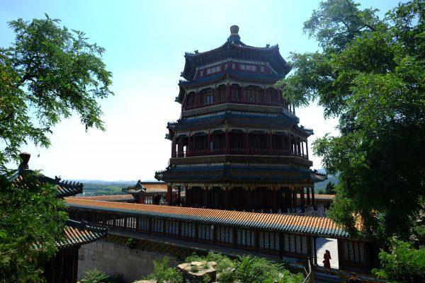 Balade un été au Palais d'été lors d'une escale en Chine
