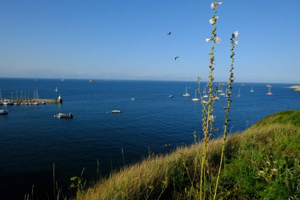 Vue splendide depuis Houat dans le Morbihan