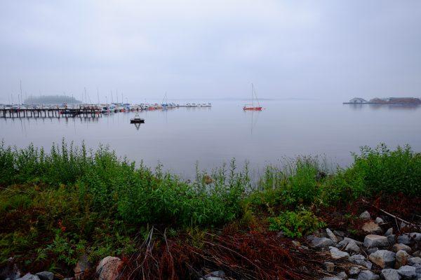 Kage, une ville du nord est de la Suède
