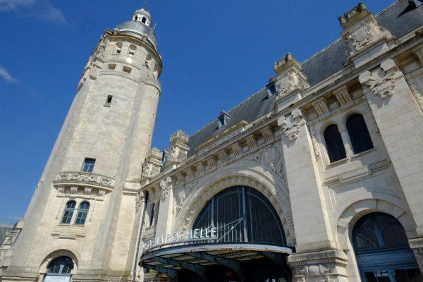 Une gare atypique à la Rochelle