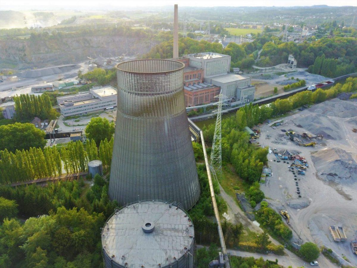 Urbex, la tour de refroidissement abandonnée
