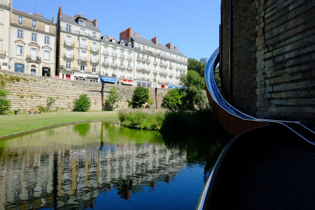Le centre ville de Nantes