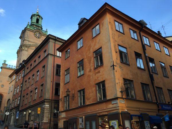 Le centre ville de Stockholm
