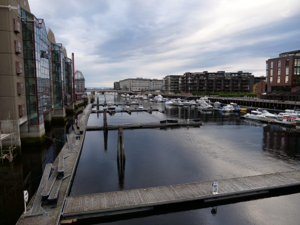 Trondheim, une grande ville du centre de la Norvège