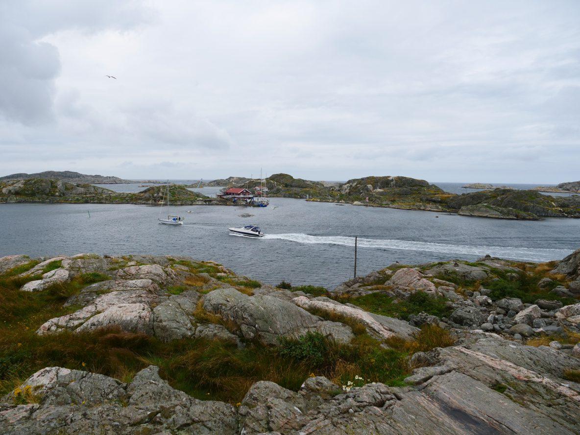 Les côtes de granit du Sud Ouest de la Suède
