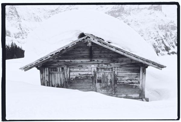 Photo argentique dans les alpes bernoises en Suisse