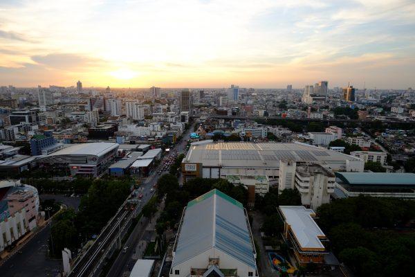 Bangkok, l'une des plus grandes villes d'Asie