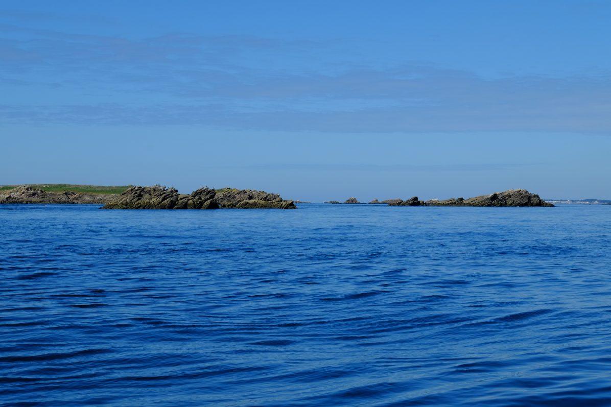 Un jour où la mer était calme à Houat