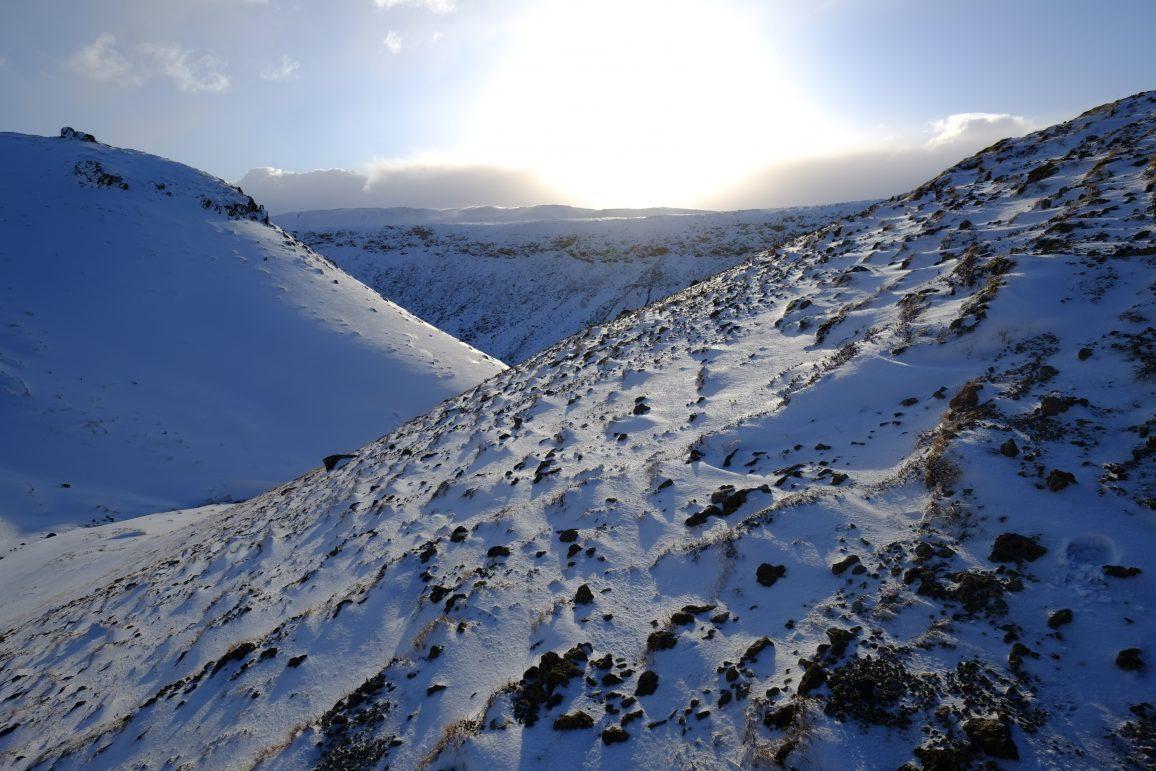 Dans les montagnes Islandaise