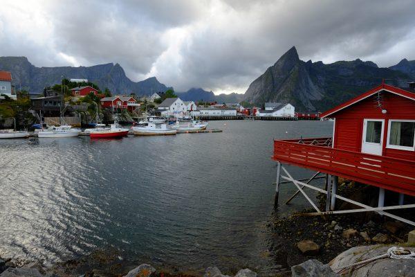 Hamnoy un village de pêcheur au bout de l'archipel