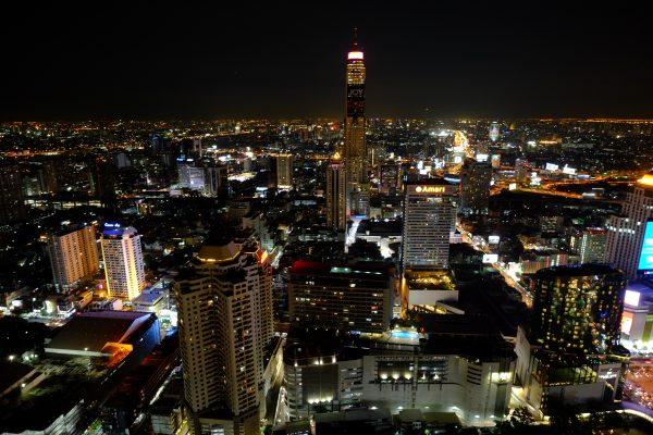 Une vue inoubliable sur la ligne d'horizon de Bangkok