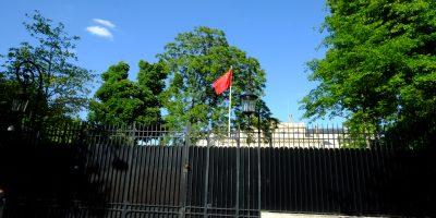 L'ambassade de Chine à Paris