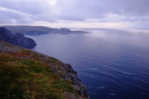 Le Cap Nord et ses nombreuses falaises haute de plus de 300 mètres