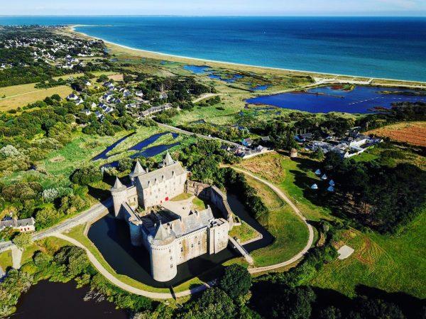 Un splendide château dans le Sud de la Bretagne