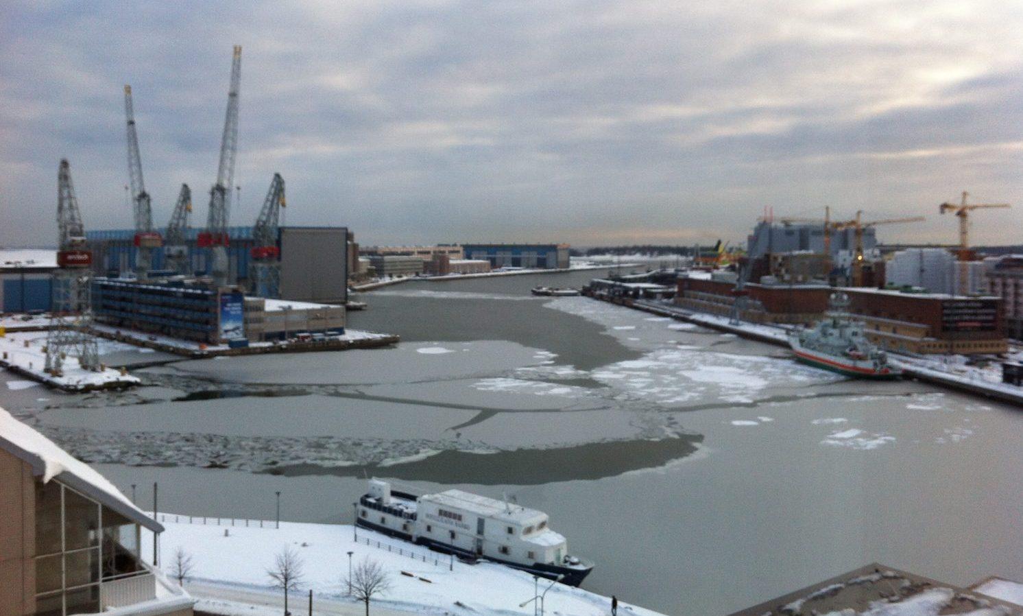 La Finlande en hiver, un des pays les plus froids du monde