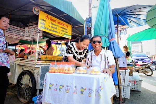 Sur les marchés du nord de la Thaïlande