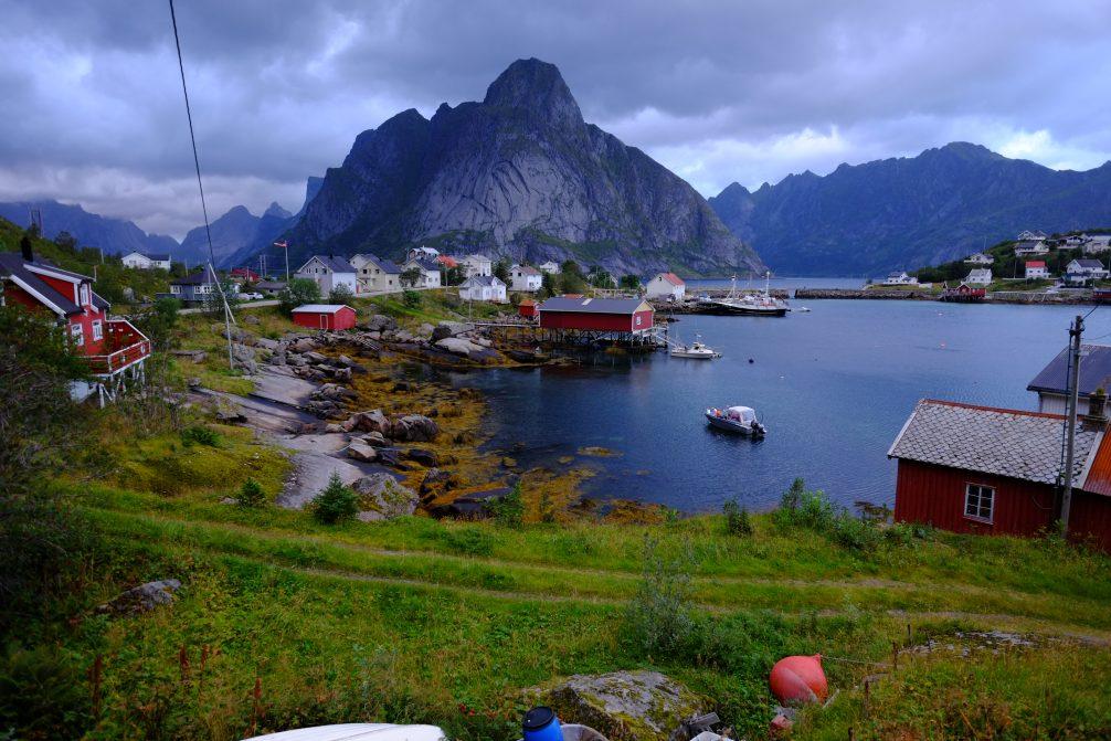 Sur l'île de Moskennesoya se trouve un village fabuleux, le petit village de pêcheurs de Reine