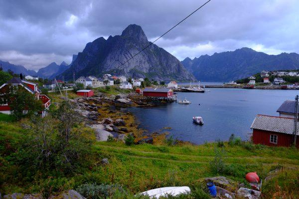 Les Fjords des îles Lofoten en Norvège