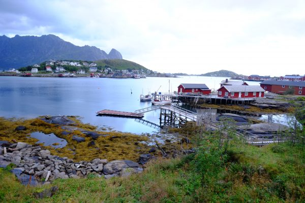 Les îles Lofoten et le village de pêcheurs de Reine