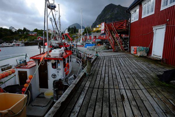 Le village de Sorvagen au bout du monde