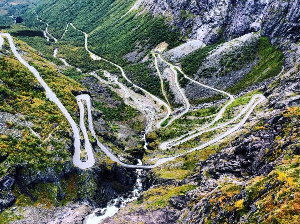 La route la plus incroyable de Norvège