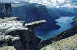 c'est certainement l'un des plus beaux paysages de Norvège