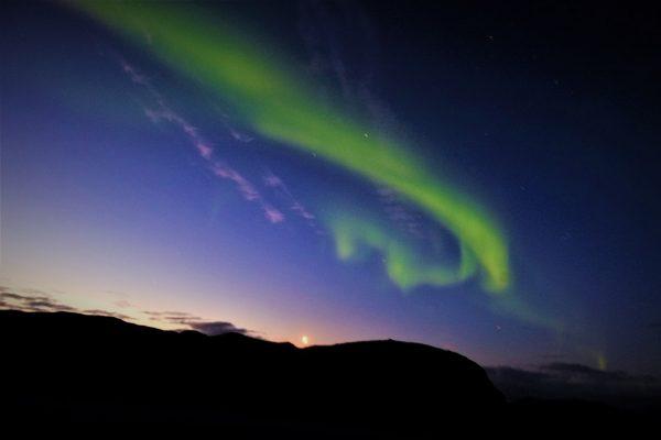 Voir des aurores boréales dans le Nord de la Norvège