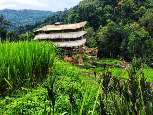 Un logement insolite dans le nord de la Thaïlande