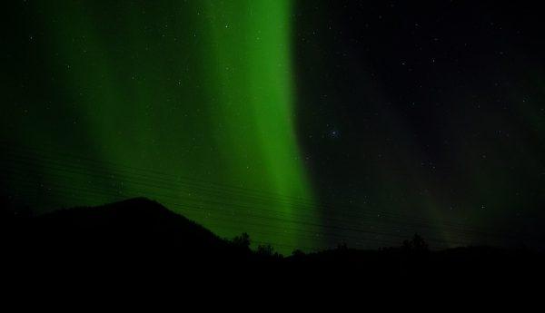 La magie des aurores boréales dans le nord du pays