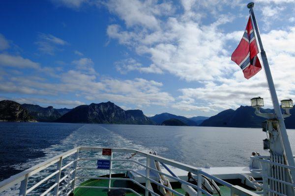 Un paysage typiquement norvégien