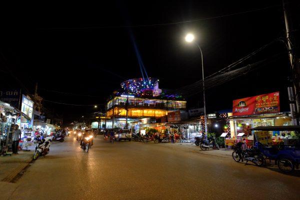 Découvrir Siem Reap la nuit