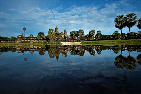 L'un des paysages les plus célèbre du Cambodge