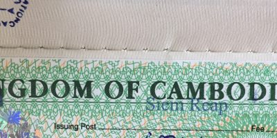 Obtenir son visa pour le Cambodge