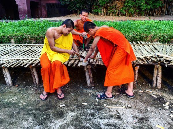 Chiang Mai et la vie des temples