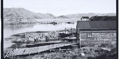 Honningsvag et l'été polaire, un jour bénit des Dieux en Norvège