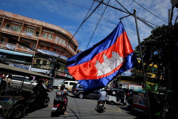 Le drapeau du Cambodge, l'un des plus beaux drapeaux du monde