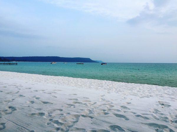 La plus belle plage du Cambodge, Soksan sur l'île de Koh Rong
