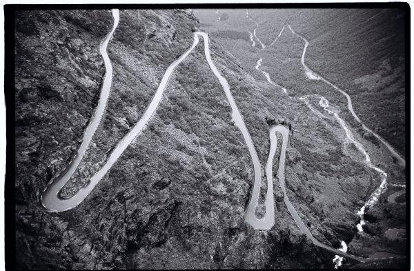 La route des Troll dans le sud de la Norvège