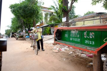 Dans les rues de Siem Reap au Cambodge