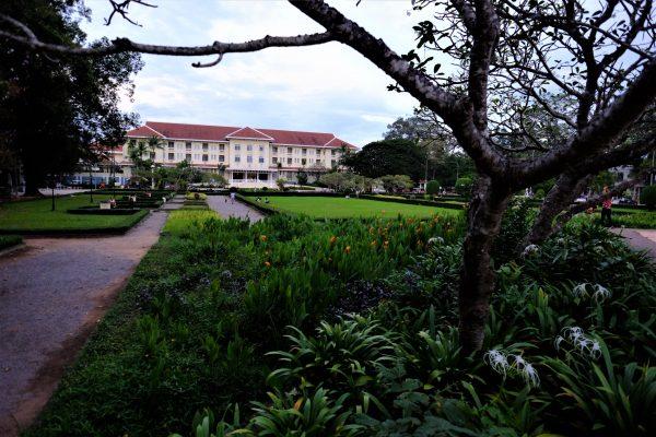 une chose à faire à Siem Reap, le jardin royal