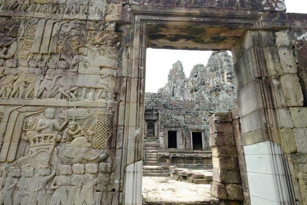 Le temple de Bayon, un des plus beaux