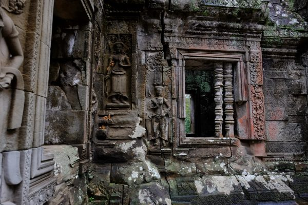 Un petit temple de la cité d'Angkor