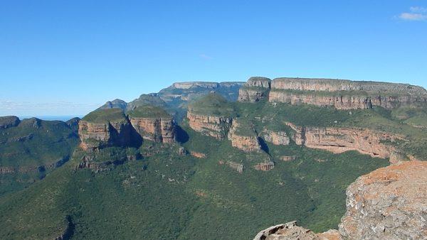 Le sud du continent africain, l'un des plus grands