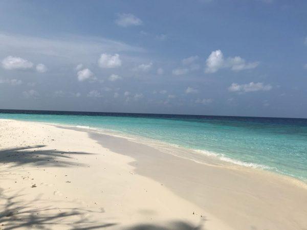 Les Maldives dans l'Océan Indien